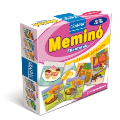 Granna Az első játékaim Meminó - Ellentétek