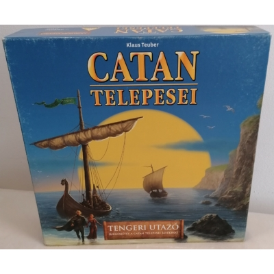 Catan kiegészítés- Tengeri utazó- Bérelhető példány